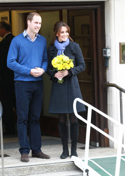 surisburnbook:  The Duchess has been released, and even after three days of hospitalized vomiting, she looks better than you and almost as good as me. Let the baby bump pictures commence. I hate my life.