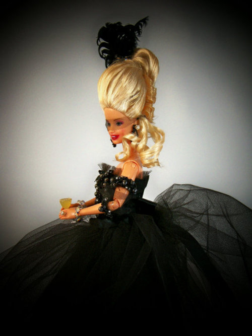 OOAK Marie Antoinette Barbie, inspired by Sofia Coppola's Film by catcatcatchester on Etsy
