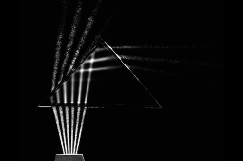 explore-blog:  Beams of light through glass, 1960, by Berenice Abbott – utterly breathtaking beauty at the intersection of art and science.
