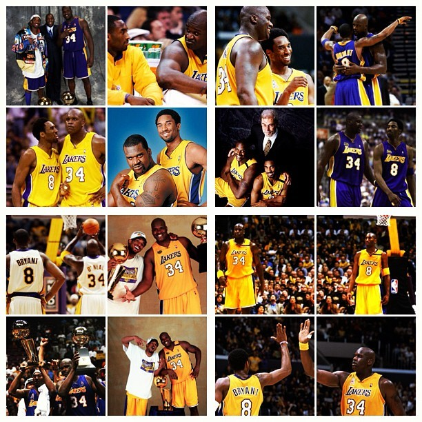 Photo: Kobe and Shaq - All of the pictures. Follow theScore on Instagram: Instagram.com/theScore
