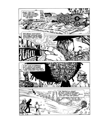 """Cartographer of the American Dreamtime"" by ALAN MOORE—an appreciation of Arthur 33 cover artist (and interview subject) Rick Veitch—is appearing in Arthur out 12.22.12…  (Pictured above: Alan, in one of Rick's dreams…) http://arthur.bigcartel.com/product/arthur-no-33-january-2013"