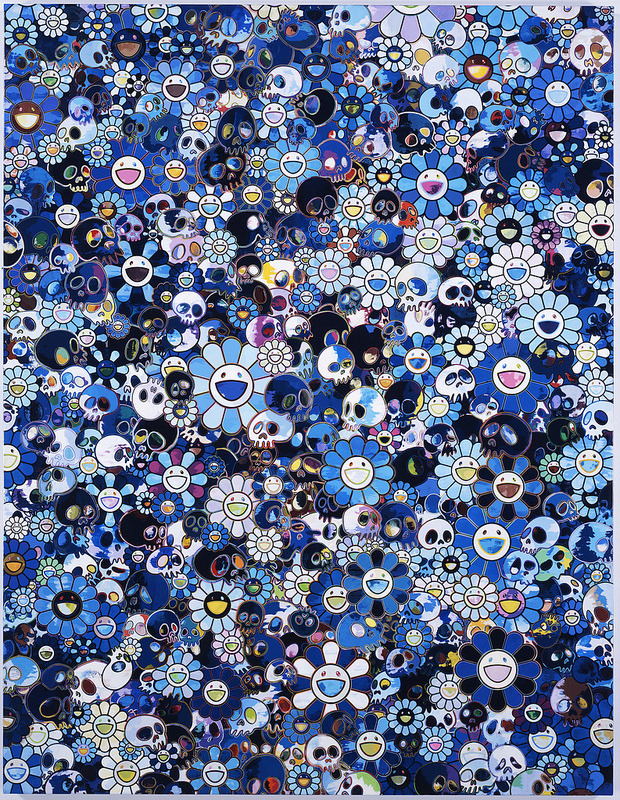 This is a great piece by Takashi Murakami. It's blowing my mind a little…