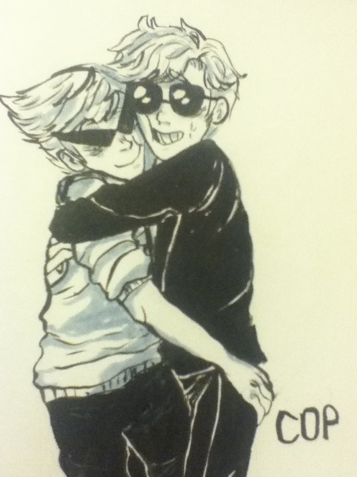 notmikey:  Dirk why must u always turn platonic brotherly hugs so awkward