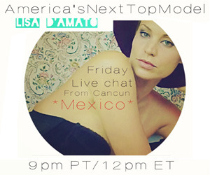 Lisa D'Amato LIVE CHAT!  Join Lisa D'Amato for a live fan chat starting FRIDAY 9PM PST / 12MIDNIGHT EST! RT @I love my supporters so much that I dedicate an hour each week to them so we can laugh, dance, chat, and I answer all their questions too. Come Join us. It's fun. <3