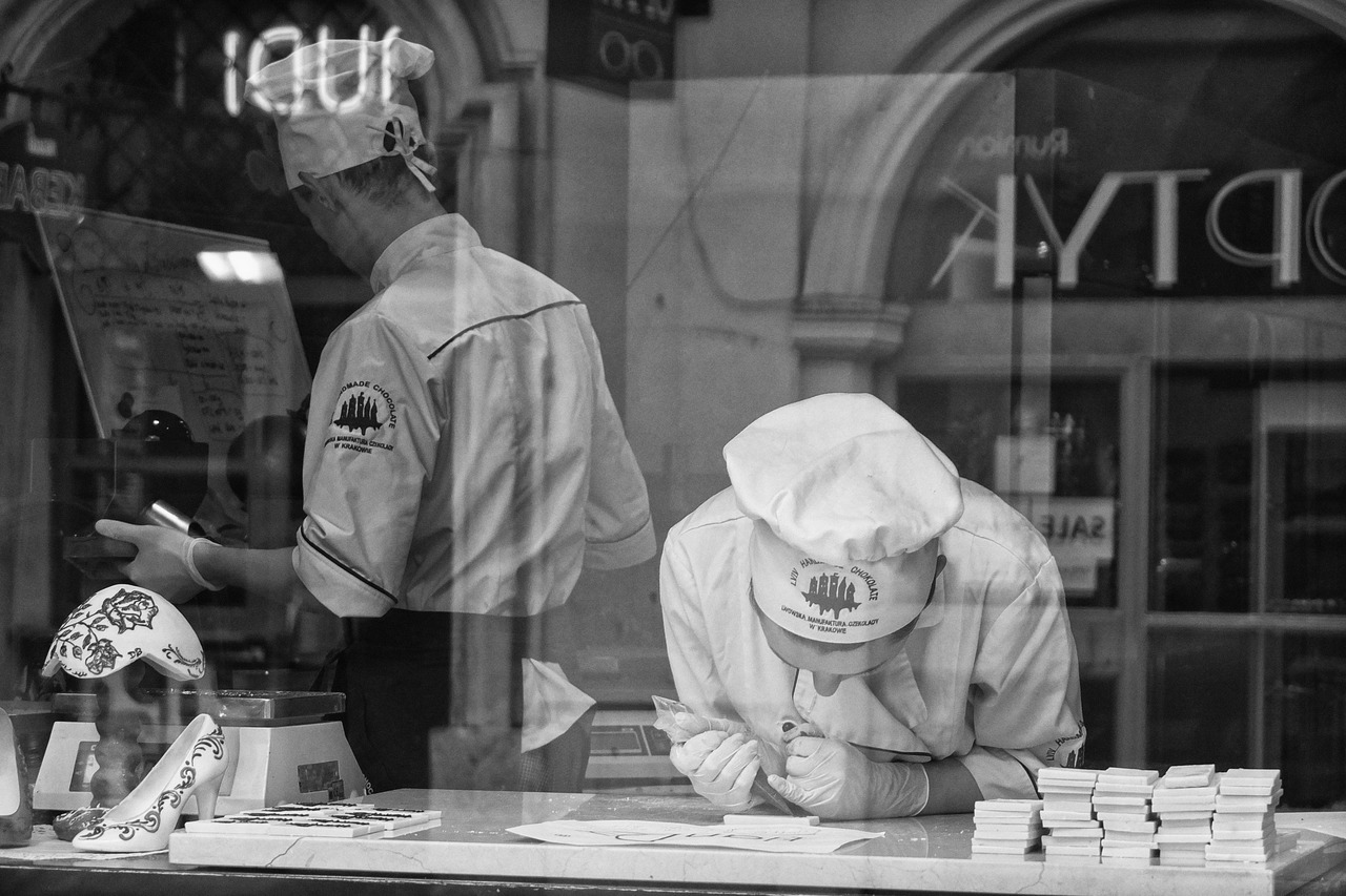 Chocolate Makers… Krakow, Poland