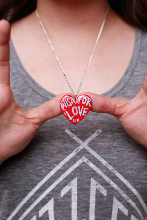 Buy a WISH FOR LOVE necklace, get the 2nd one FREE! TODAY ONLY! www.11elevenapparel.com