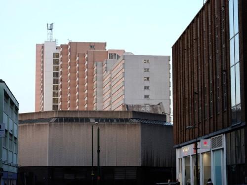 Vic Centre. Nottingham, December 2012.