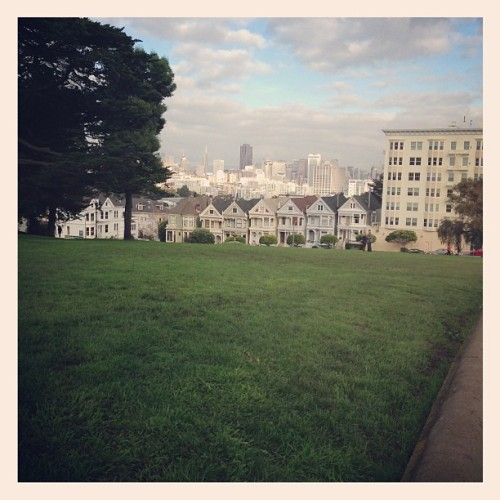FTW - we just stumbled upon the Full House intro by accident. Alamo Square, SF