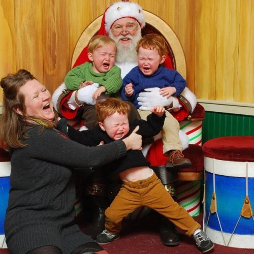 Ginger Children Hate Santa Claus And Ginger Moms love it.