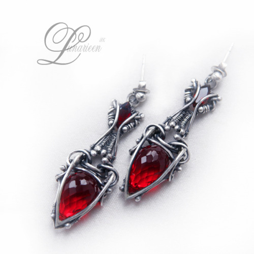 LANTHIRIEEL earrings by ~LUNARIEEN