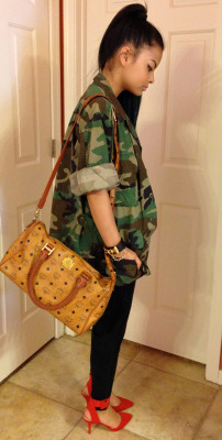 "fashionpassionates:  Get yours: MILITARY CAMO JACKET Shop FP | Fashion Passionates ""get your fashion fix with fashion passionates"