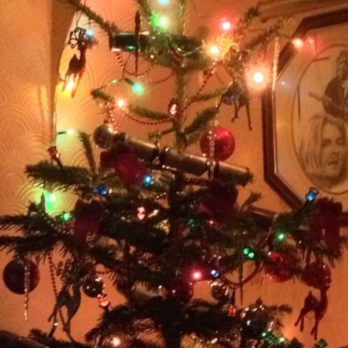 Close up of some of the decorations 🎄