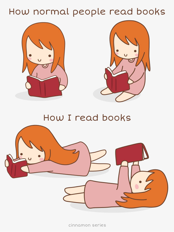 What's your favorite reading position?