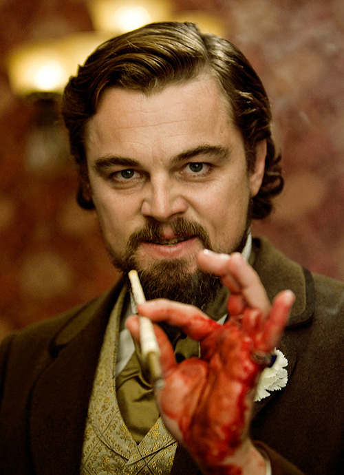 "officialdjangounchained:  ""Gentlemen, you had my curiosity. Now you have my attention."" Leonardo DiCaprio is Calvin Candie in the latest Quentin Tarantino film - Django Unchained."