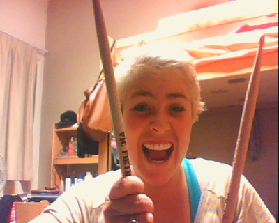 drumsticks from the Monsters Calling Home show at the Troubadour C: loveeeeee them so much.