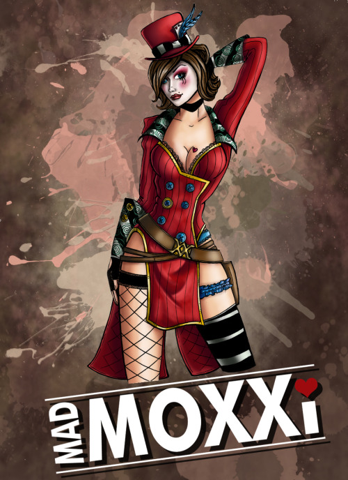 lasercunt:  Borderlands Mad Moxxi Colours by *Amy-Hands