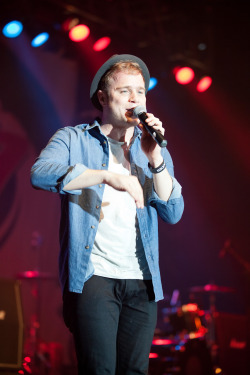 jennarossphoto:  Olly Murs December 4, 2012 K104 Not So Silent Night Poughkeepsie, NY Photo by Jenna Ross