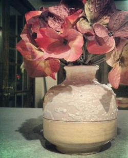 flower pot i made my mom: Matthew Salinger Art