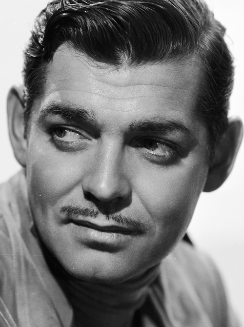 Clark Gable photographed by Clarence Sinclair Bull, 1936