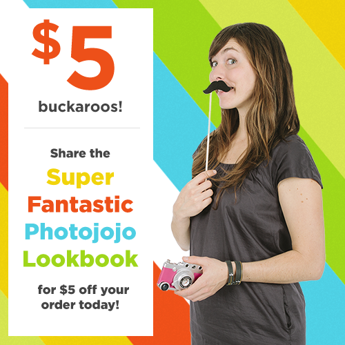 Photojojo made their first ever Lookbook! Share it with your friends for $5 off in their shop. TODAY ONLY!