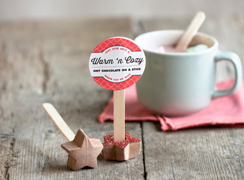 prettylittlepieces:  Hot Chocolate on a Stick