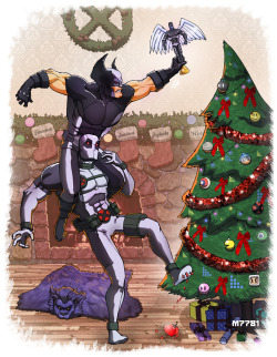manicr:  an x-force x-mas by *m7781