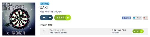 Dart. EXCLUSIVE TO BEATPORT! Get your copy today!! Click here!
