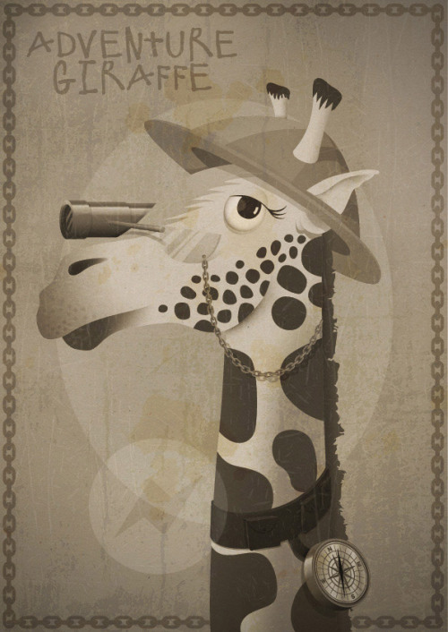 How to avoid filling in tax returns… Illustrate a giraffe in a hat.
