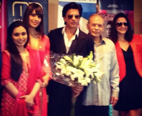 Bipasha, Rani, Shahrukh and Preity in Jakarta for the Temptation Reloaded Show!