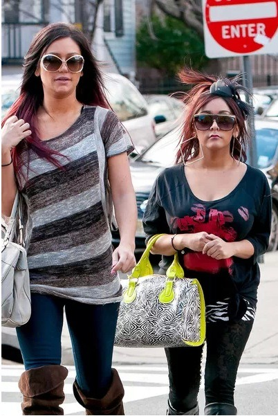 "Great news. JWoww and Snooki of MTV's Jersey Show are set to host the ""sickest"" New Year's Eve party in Times Square, NYC this year. The two will be ringing in 2013 Jersey style. Also set to appear will be Kesha, Ne-Yo, and Rita Ora."