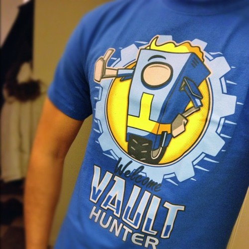 New shirt #fallout #borderlands #shirtpunch #igdaily #igaddict #swag #game
