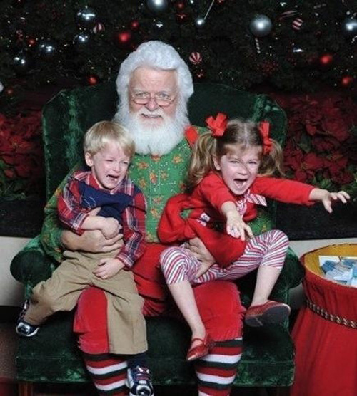 Kids ruin everything, especially Christmas.