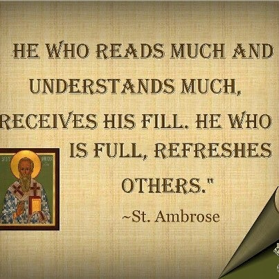 marisideals:  St. Ambrose, a true shepherd and teacher of the faithful…key figure to St. Augustine's conversion.