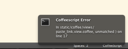 coffeescript-error