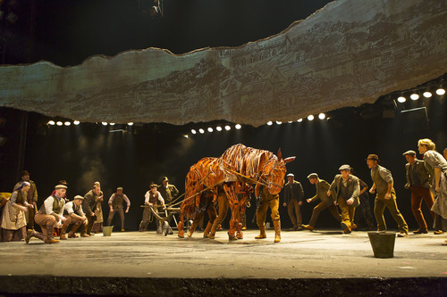 Joey and the US National Tour of WAR HORSE