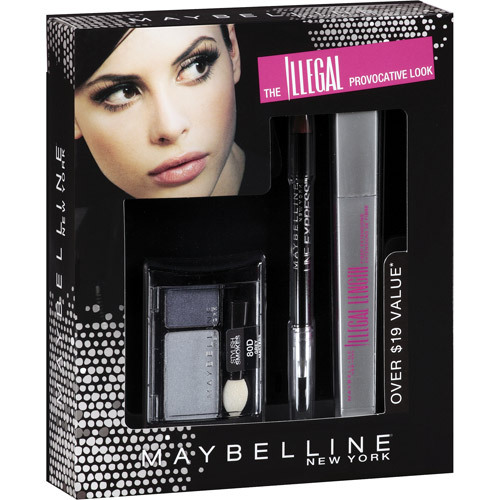 Maybelline Illegal Length Fiber Extensions Total Eye Look Kit.