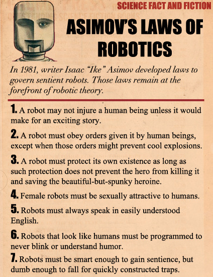 Asimov's Laws of Robotics