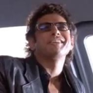 - Jeff Goldblum's laugh from Jurassic Park