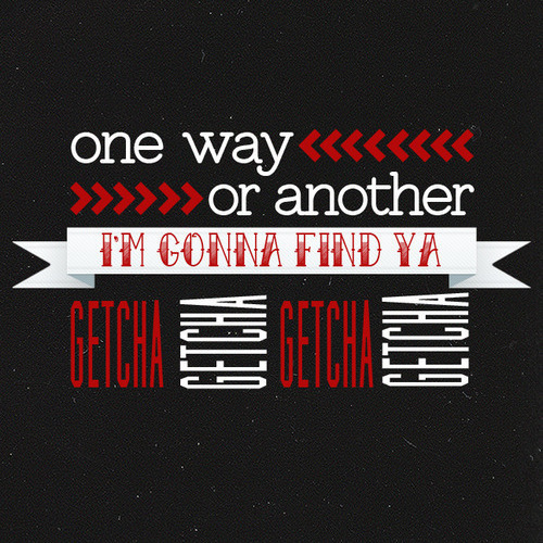 One Direction - One way or another-brit's 2013