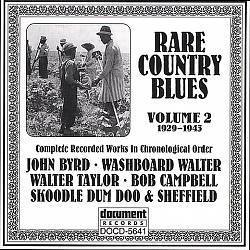 Various Artists - Document Records - Starvation Farm Blues - Bob Campbell