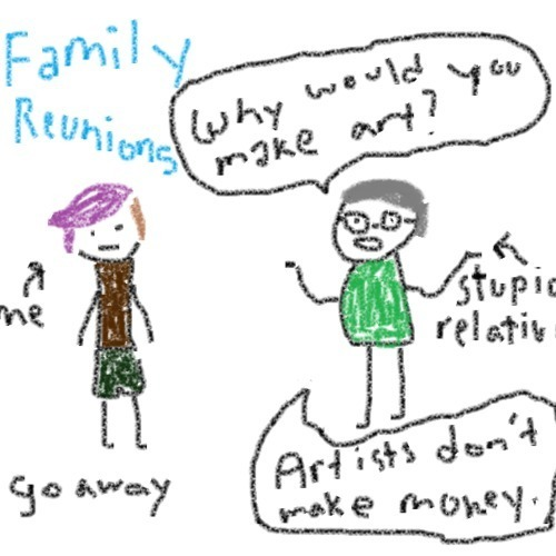 Human Petting Zoo - Family Reunions