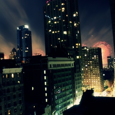 In a City (Example Mix)