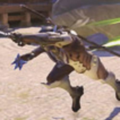 Genji skitters around you at 300% speed