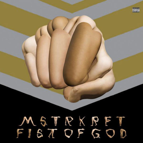 MSTRKRFT - Fist of God  Look for it March 17th on Dim Mak/Downtown Records, or pre-order it from Amazon.  Note: This is something new we're trying. Album art is one of the most compelling reasons to buy physical copies of albums, so why shouldn't we draw attention to that too? If we see album art we think is notable, expect to see it here.
