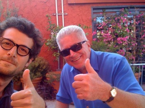 Visiting… With Huell Howser. Check out my live-tweet. And check out Huell on Twitter.