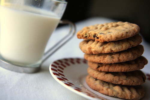 jojochao:  peanut butter chocolate chip cookies