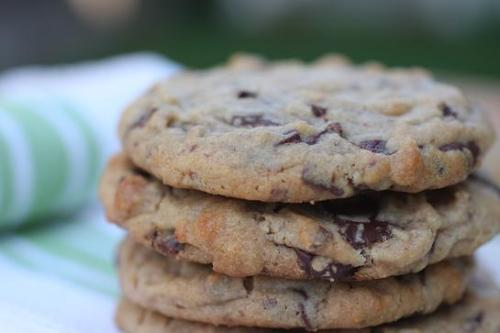jojochao: chocolate chunk peanut butter cookies
