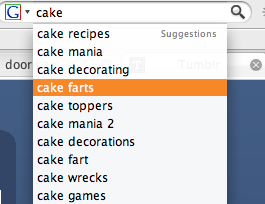 "amandalynferri:  When looking up cake Google suggested something called ""cake farts"" naturally my curiousty got the best of me. WARNING: NSFW  ALSO, WTF?!"