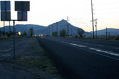 I shot this photo as I headed out of Fort Davis to the closest big town— Alpine. Fort Davis: population 2000, Alpine: population 5000.