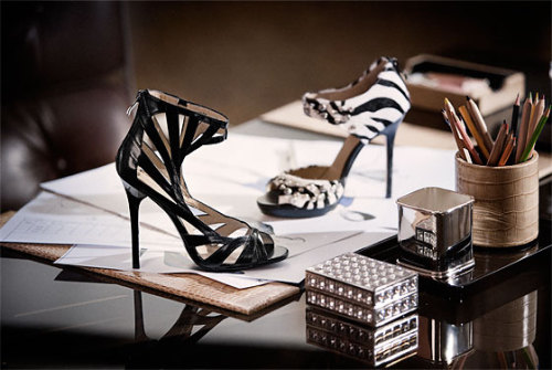 thewitofanation: Jimmy Choo Teams Up With H&M